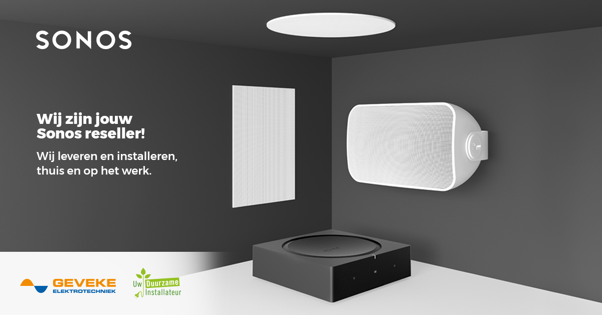 Sonos audiosysteem